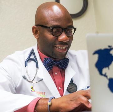 Dr  Alozie – Sunset ID Care